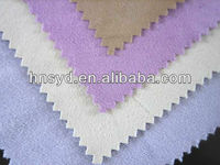 100%polyester solid dyed Deerskin suede fabric