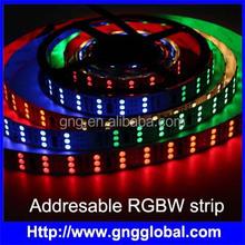 144pcs 5050 led 48 pixels per meter addressable RGBW led strip