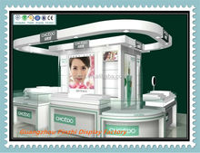 Best design Cosmetic and perfume beauty Kiosk display ZH-71