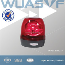 big round beacon light for police vehicles