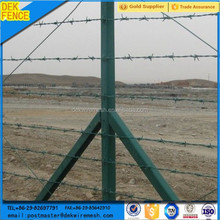 Barbed-wire barbed wire fence roll t post