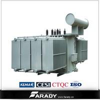 silicon steel transformer high voltage 3 phase 160mva/230kv/33kv transformer