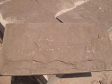 red sandstone mushroom surface