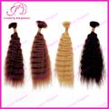 De color super onda 100% brasileña cabello humano a granel para la venta