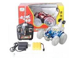 R/C children electrical remote control stunt toy car