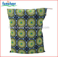 2014 Famicheer New Print Cloth Diaper Pails Liners Wet Bag,Diaper Tote Nappy Bags