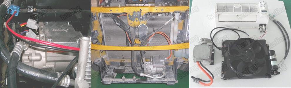 12v electric dc compressor with 12v dc electric motor