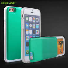 100% brand new and high PC TPU quality case for iphone 6 telephone