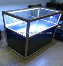 High standard Modern glass jewelry display cabinet