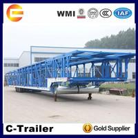 Car carrier semi trailer dimensions and truck trailer