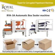 automatically fold the top flaps sealer, carton sealing machine