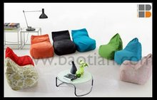 Colorful bean bag chairs wholesale in fabric giant beanbaf