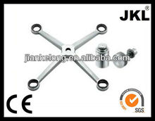 construction glass spider fitting, spider for glass wall