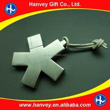 Metal USB 2.0 Flash Drive 4GB 8GB 16GB 32GB keychain flash Memory Drive Keychain Usb Flash Drive