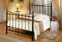 hot sell black beief modern sweet dream iron bed