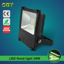 aluminum material 30 watt 50 watt 277V outdoor led flood light with Philips chip CE Rohs certificated