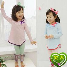 NEWEST AUTUMN STYLE FASHIONAL CHILDREN'S T-SHIRTS C11128A