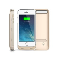 For iPhone 5 5s Charging Case Extended Charger Backup Power Bank Battery Pack Cover Cases for iphone5 5s