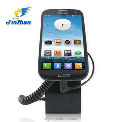Promotional Standalone anti-theft sensor secure smartphone holder with alarm