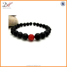 BC136 Lava rock stone bracelet, fashion men bracelet