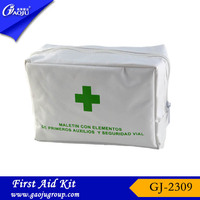 Within 12hours reply fashion colorful polychrome euro first aid kit