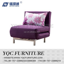 Y6086# hot sale Chinese style three folding fabric sofa bed