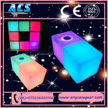 ACS 2015 Wholesale Party Decoration Led Circle Ring Light Shining cube