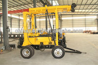 Full hydraulic trailer mounted portable XYX-3 water well drilling rig