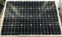 High efficiency best price per watt 80W monocrystalline solar panels, solar PV modules with TUV, ISO, CE, UL