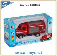 1:64 alloy toy metal fire trucks die cast car toy