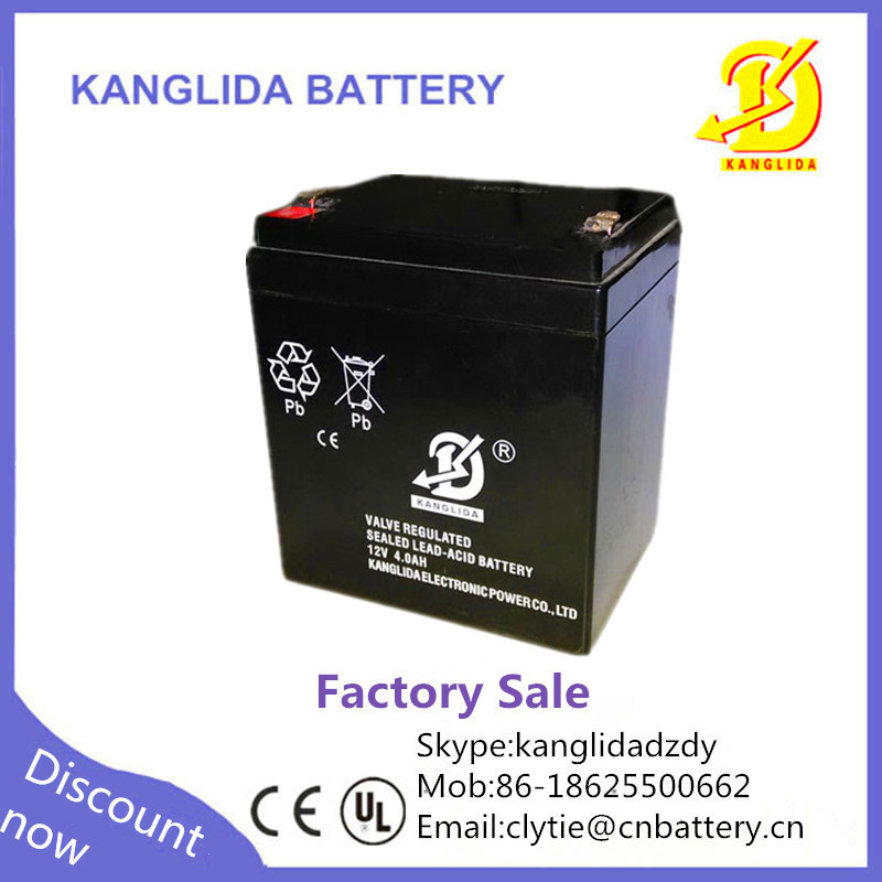 kanglida 12v 4ah rechargeable battery 4ah 20hr battery and. Black Bedroom Furniture Sets. Home Design Ideas