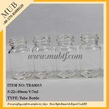 Quality most popular clear glass perfume bottle art