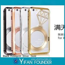 Bling Bling Diamond Case For iPhone 6, Cover Phone For iPhone 6, Shining Rhinestone Case For iPhone 6 plus