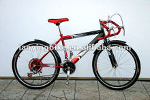 2015 New style 18Speed Racing Bicycle Cheap Steel Road Bike