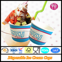 16oz Top115mm Double PE Coated Disposable Ice Cream Cups