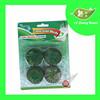 4Pcs Green Solid Toilet Bowl Cleaner Blocks
