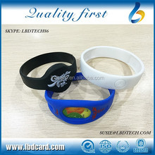 Waterproof Sillicone MF S50 + TK4100 Bracelet/Wristband for Swimming Pool