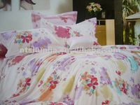 100% Cotton Comforter Set/Flat Sheet Set /Bed Set