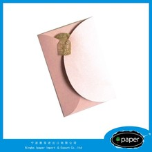 Brand new back adhesive packing list envelope with high quality