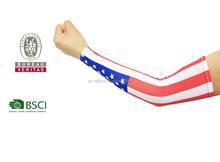 ingrosso impermeabile poli stampato maniche braccio decorativo