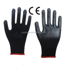 13g Nylon Liner Palm Nitrile Coated Glove D535