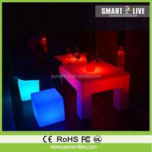 Landscape Lamp/ Led Chair /Led Cube /Led Sofa/Bar Stools/LED Crystal Cube