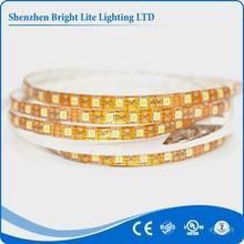 5050 Nonwaterproof IP20 yellow 60led/meter UL certificate flexible led strip light