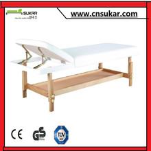 Modern Design Stationary Wooden Massage Table