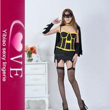 Sexy traje de halloween para sexy adulto traje de superhéroe