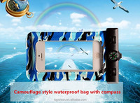 New arrival high quality mobile phone pvc waterproof bag case for swimming,diving,surfing,etc