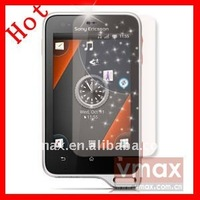 High quality diamond screen protector film for Sony Ericsson xperia active