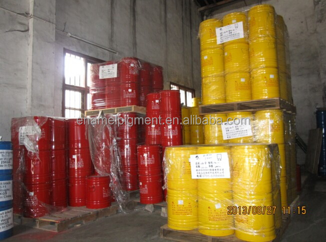 Cadmium Yellow enamel pigment TB2-01 for metal coating