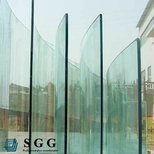 New design tempered curved glass furniture ,clear tempered glass for decoration