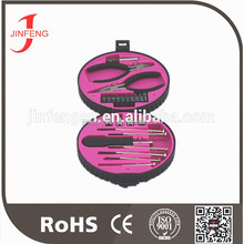 good material hot sale cheap price lady pink tool set